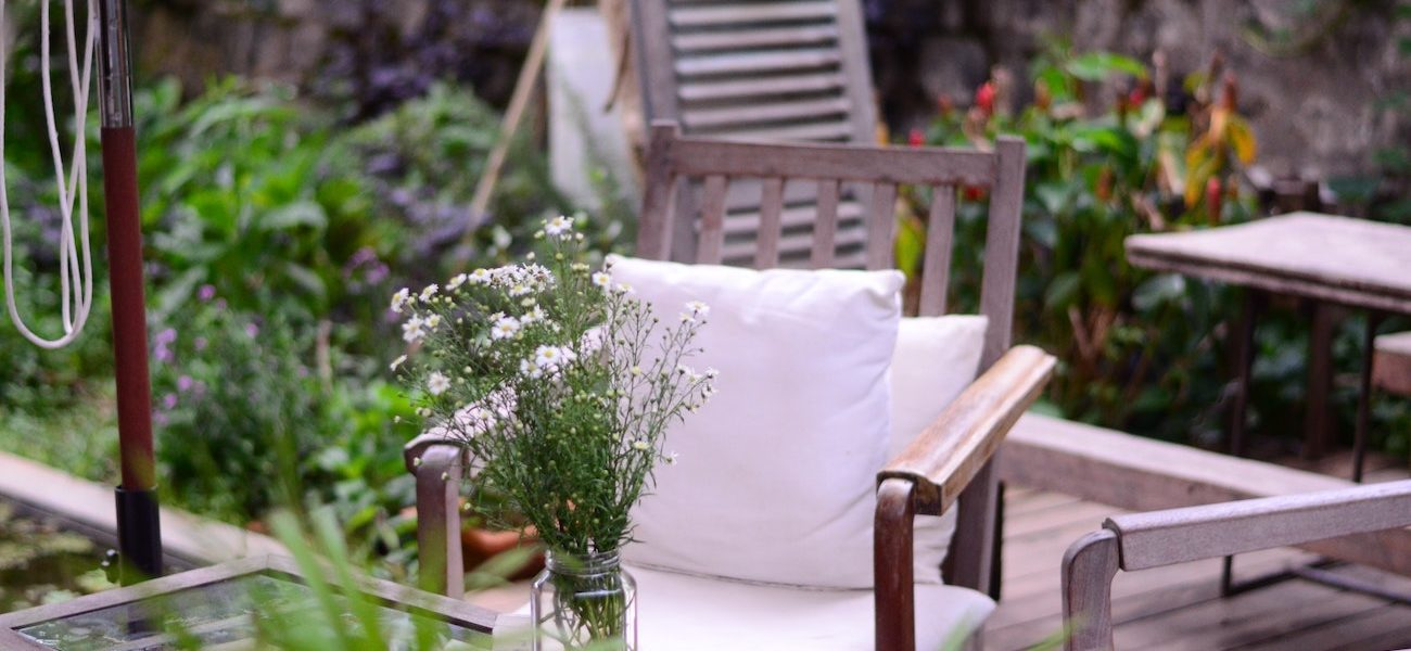 jardin meuble teck